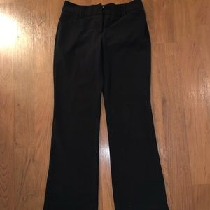 Black Pants size 2 average